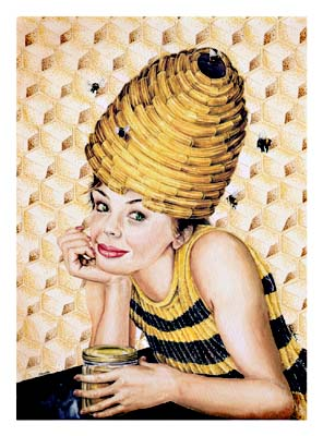 Bee Hive Hairdo