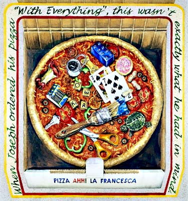 Pizza with Everything